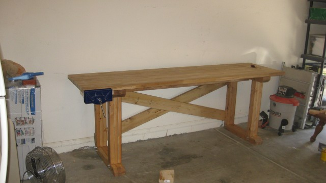 Workbench base frame.