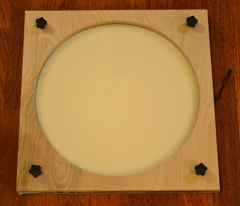 Telescope flat field panel