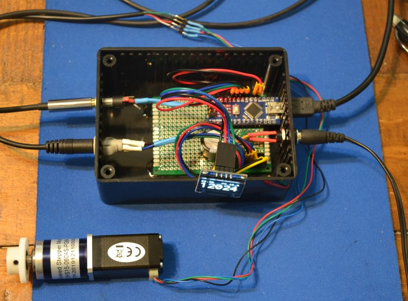 The focuser controller board
