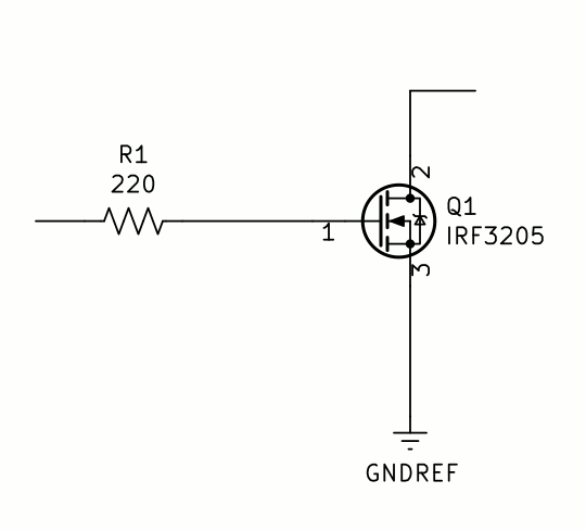 Arduino high power using a darlington and an SSR