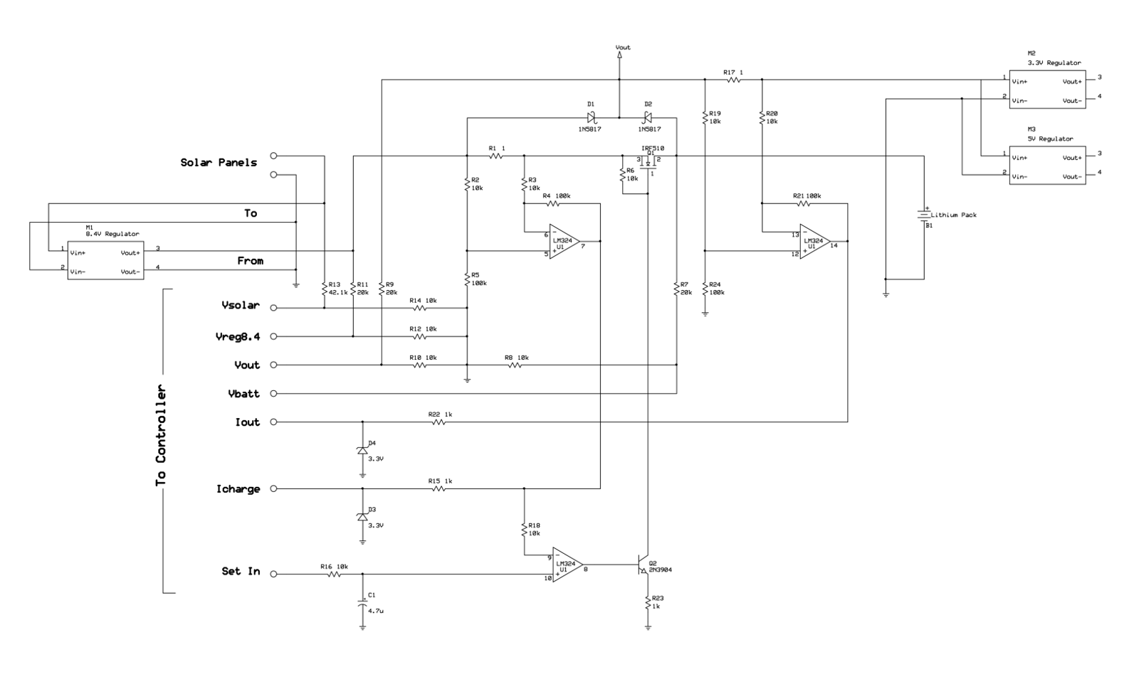 Solar Lithium Power Supply Dave Allmon Liion Battery Charger Circuit Diagram Cell Schematic