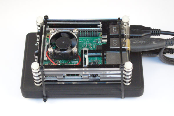 Raspberry Pi file and print server